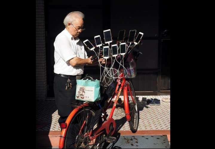 El taiwanés Chen San-yuan, de 69 años. Foto: EFE