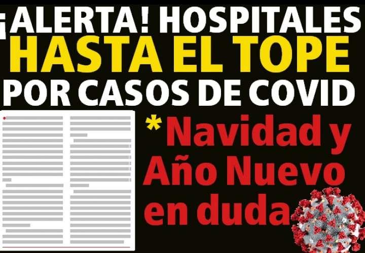 HOSPITALES HASTA EL TOPE POR CASOS DE COVID.Navidad y Año Nuevo en duda