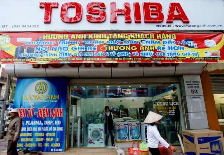 Toshiba suspende sus envíos de componentes a Huawei