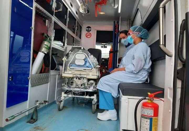 Inician traslado de neonatos del Complejo al hospital Irma de Lourdes Tzanetatos