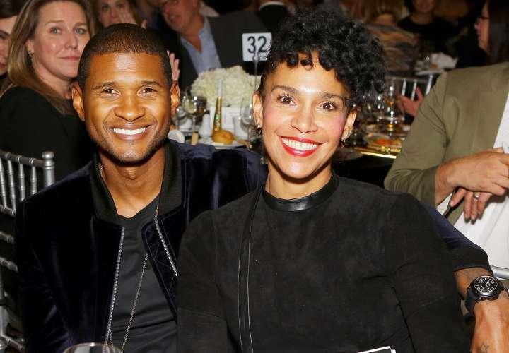 El cantante Usher solicitó el divorcio a su pareja
