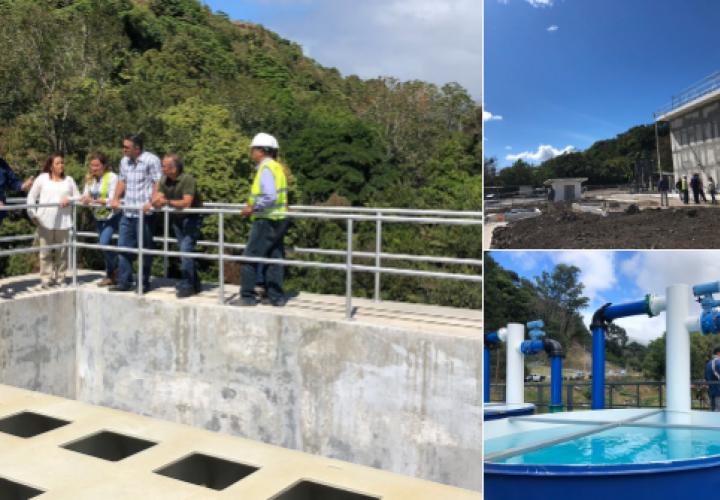 Presidente Varela inspecciona obras en Chiriquí