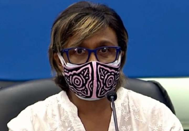 Viceministra de Salud Ivette Berrío.