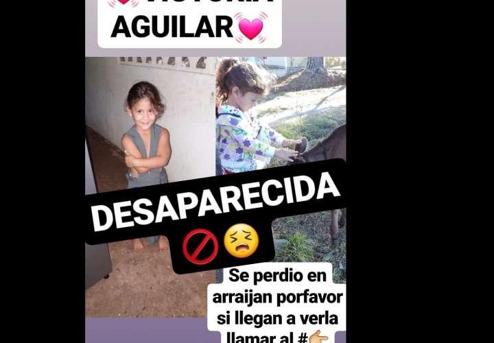Ñiña de 5 años se encuentra desaparecida; padre clama por ayuda