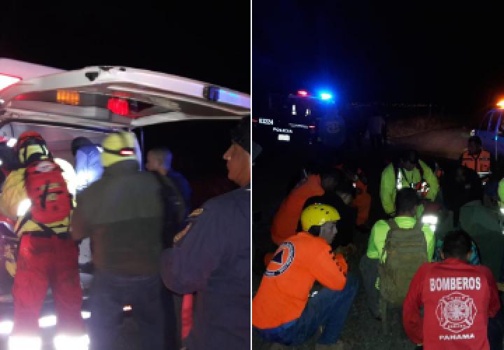 Rescatan cuatro jóvenes en cima del volcán Barú