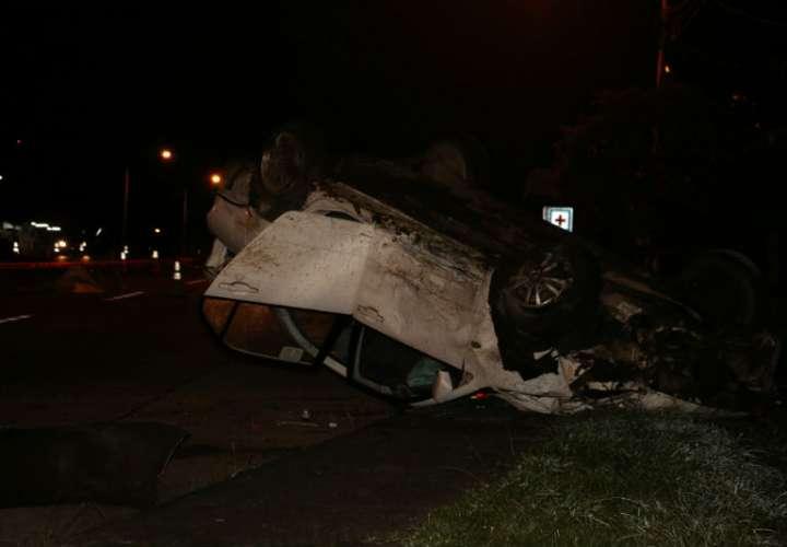 Las cifras por accidente de tránsito en la provincia de Chiriquí, se elevan a 40 muertos con estos dos casos. Foto: Mayra Madrid
