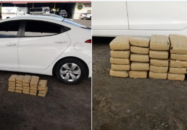 Pillan a tres sujetos con 24 paquetes de droga en Chiriquí