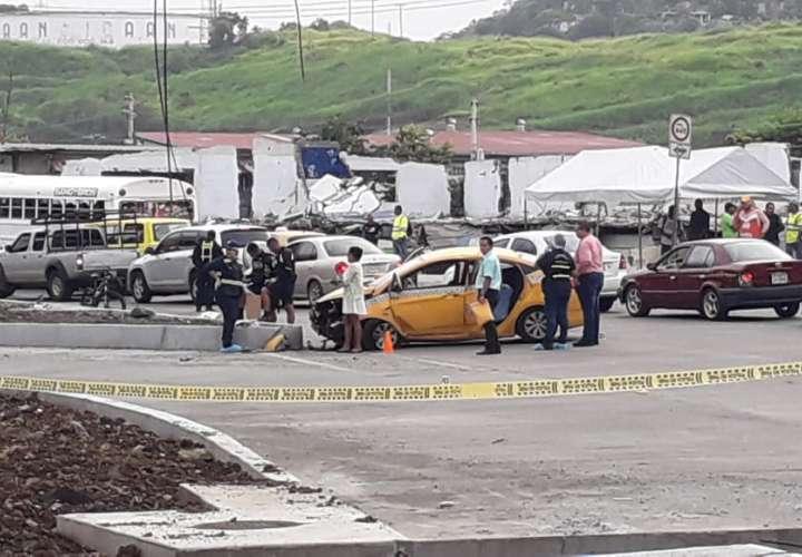 Taxista muere en accidente de tránsito en la vía Transístmica [Video]