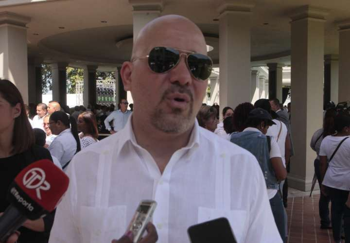 Ministro de Seguridad, Rolando Mirones. Foto: Víctor Arosemena