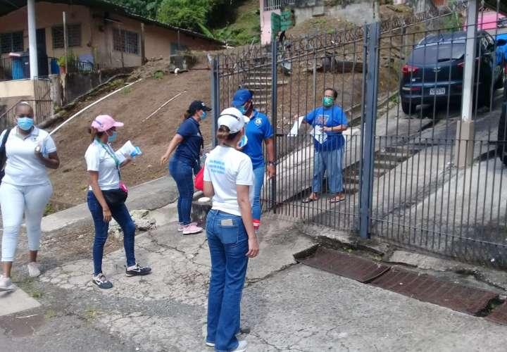 Salud se toma Omar Torrijos para orientar a residentes sobre Covid-19