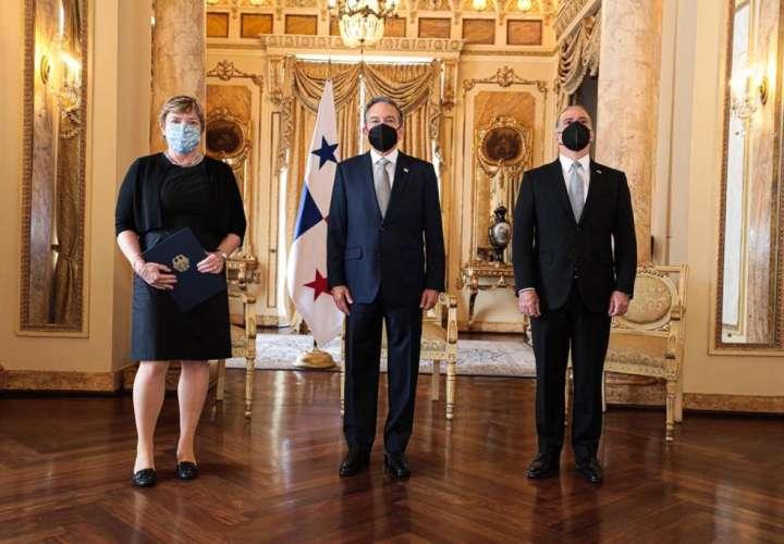 La ceremonia se realizó en la Presidencia de la República