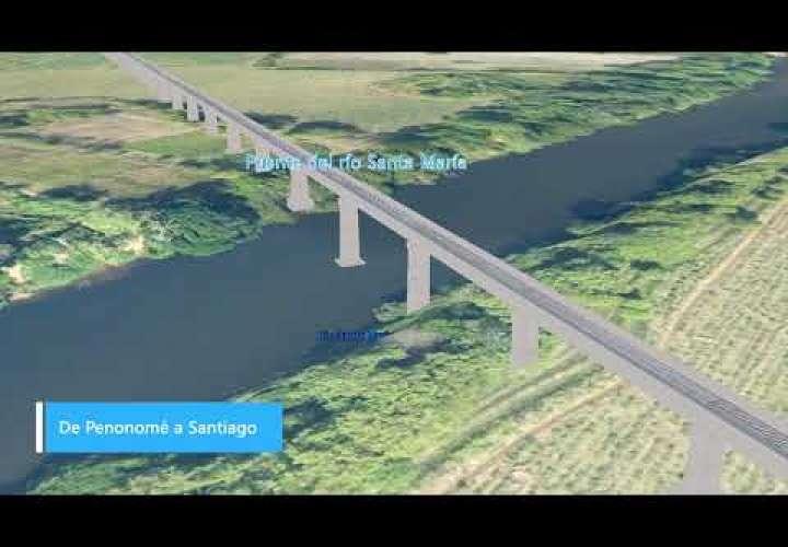 Embedded thumbnail for Mira la ruta y el tren Panamá David (Video)