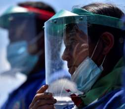 La situación de la COVID-19 en el mundo es cada día más complicada por los rebrotes del coronavirus. FOTO/EFE
