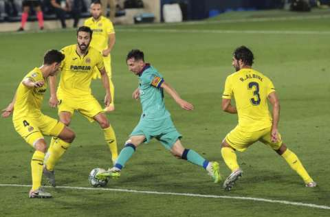 Lionel Messi Foto:EFE