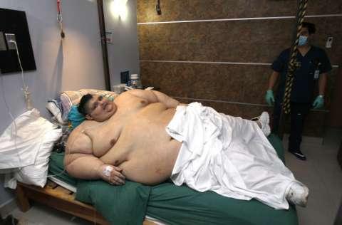 Hace tres años, el mexicano Juan Pedro Franco obtuvo un récord Guinness. Fue el ser humano más gordo del mundo, al dar casi 600 kilos en la báscula. FOTO/EFE