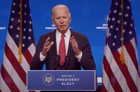 Joe Biden toma posesión el 20 de enero de 2021. FOTO/EFE