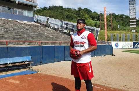 El lanzador panameño Jaime Barría. Foto:Fedebeis