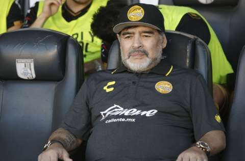 Diego Maradona Foto:EFE