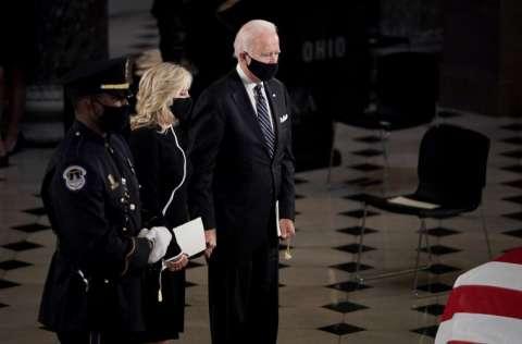 Este martes se llevará a cabo un debate presidencial entre Donald Trump y Joe Biden, y será el termómetro político. FOTO/EFE