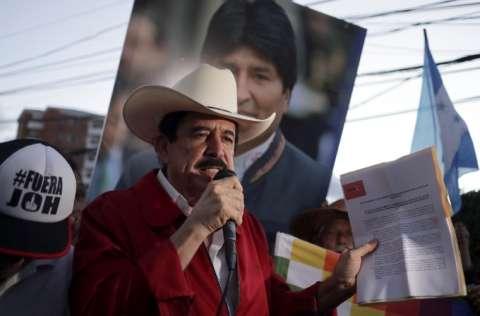 El expresidente de Honduras, Manuel Zelaya, está en Venezuela. FOTO/EFE
