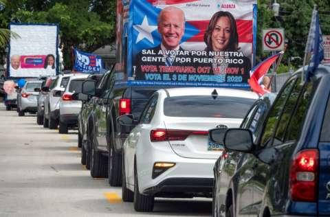 El candidato presidencial demócrata Joe Biden busca captar más votos. FOTO/EFE