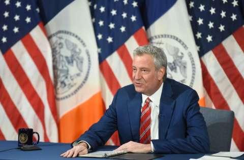Alcalde de Nueva York Bill de Blasio, exigió que se respeten las medidas impuestas. FOTO/EFE