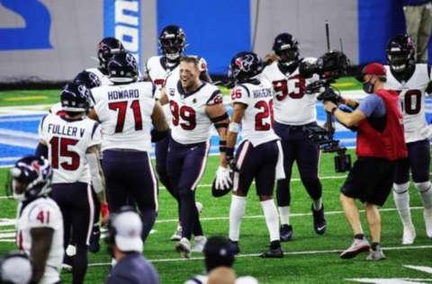 Jugadores de Houston celebran. Foto: AP