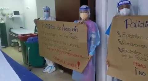 No se asignaron dosis de vacunas contra el COVID-19 para la policlínica de Arraiján.