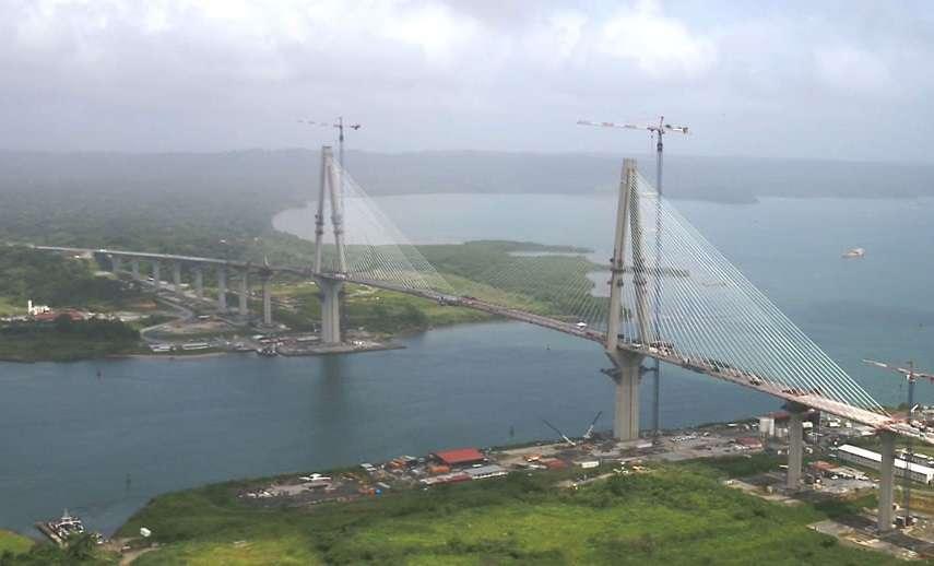 Vista del puente Atlántico en Colón. Foto: Canal de Panamá