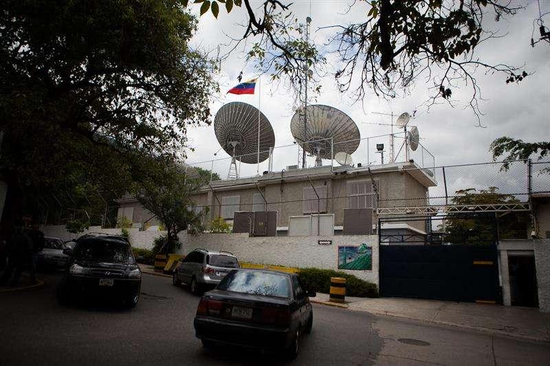 ista general de la fachada del canal de televisión privado Globovision de Venezuela. EFE/Archivo