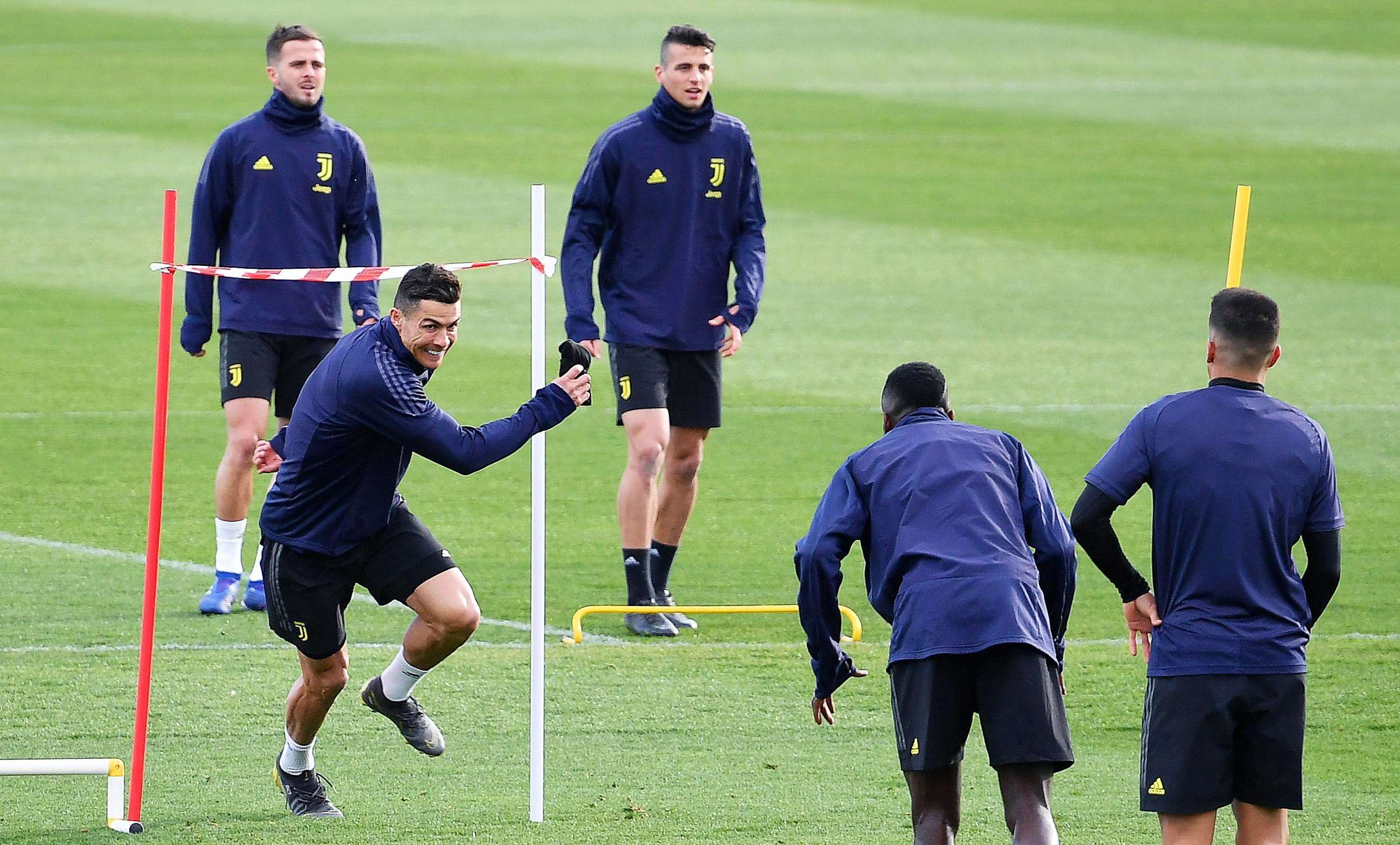 Cristiano Ronaldo, figura de la Juventus./Efe