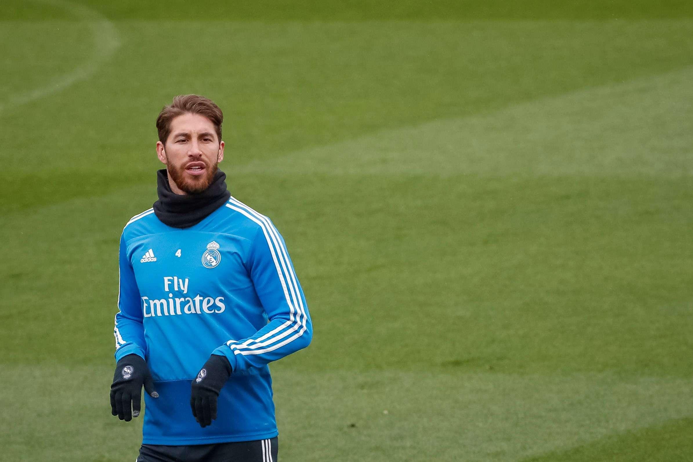 Sergio Ramos, capitán del Real Madrid. / EFE