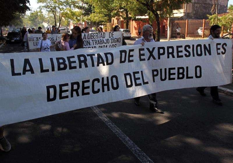 Libertad de expresión es el derecho del pueblo.
