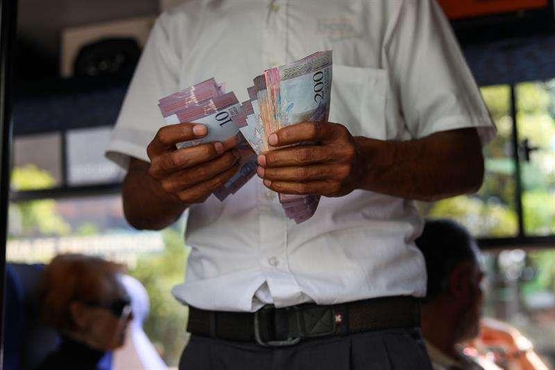 Nuevo cono monetario en Venezuela.