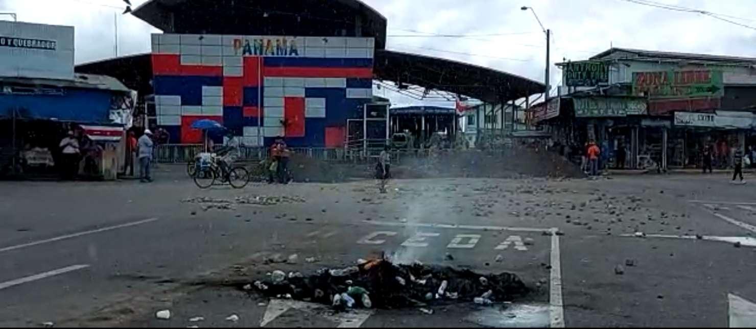 La tensión se mantiene en la zona fronteriza entre Panamá y Costa Rica