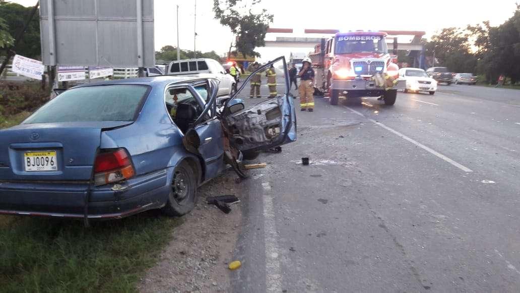 Afortunadamente ninguna persona murió producto de este hecho de tránsito. Foto: @BCBRP