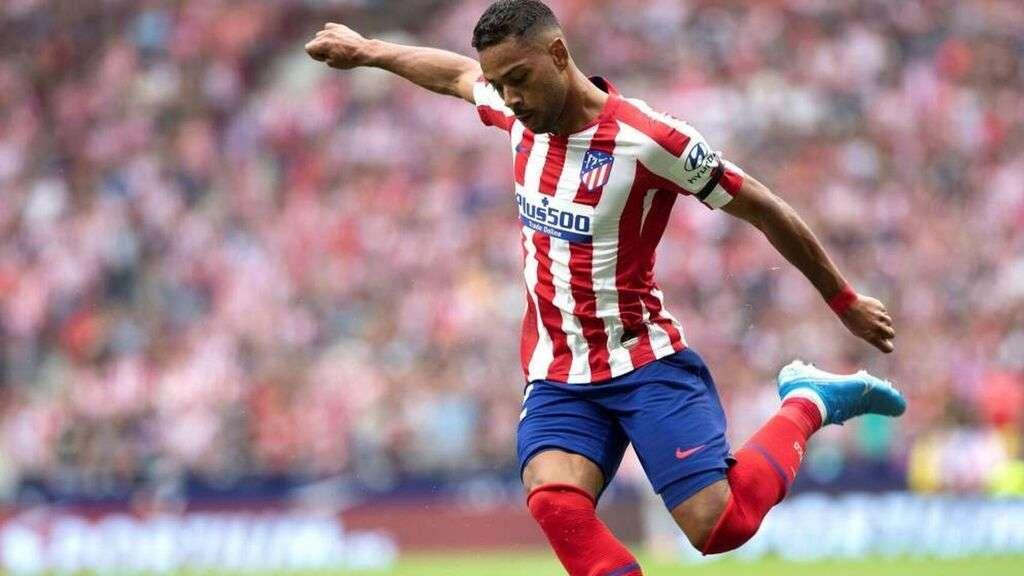 Renan Lodi, lateral del Atlético de Madrid.