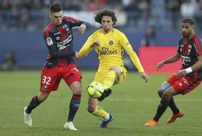 El jugador Adrien Rabiot. Foto: EFE