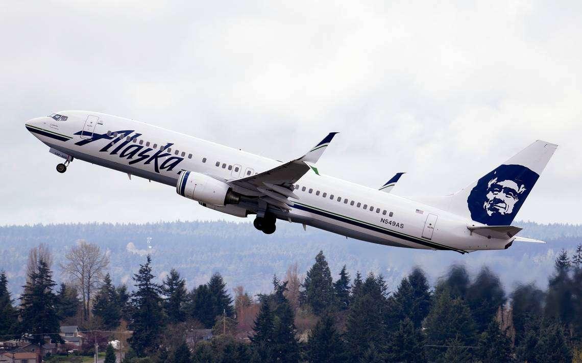 Un avión de Alaska Airlines. Elaine Thompson AP