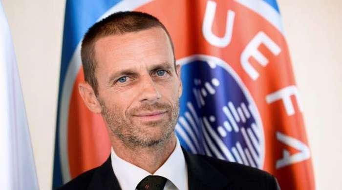 Ceferin actual presidente de la UEFA subrayó que hay muchas dudas sobre el uso de esta tecnología./EFE