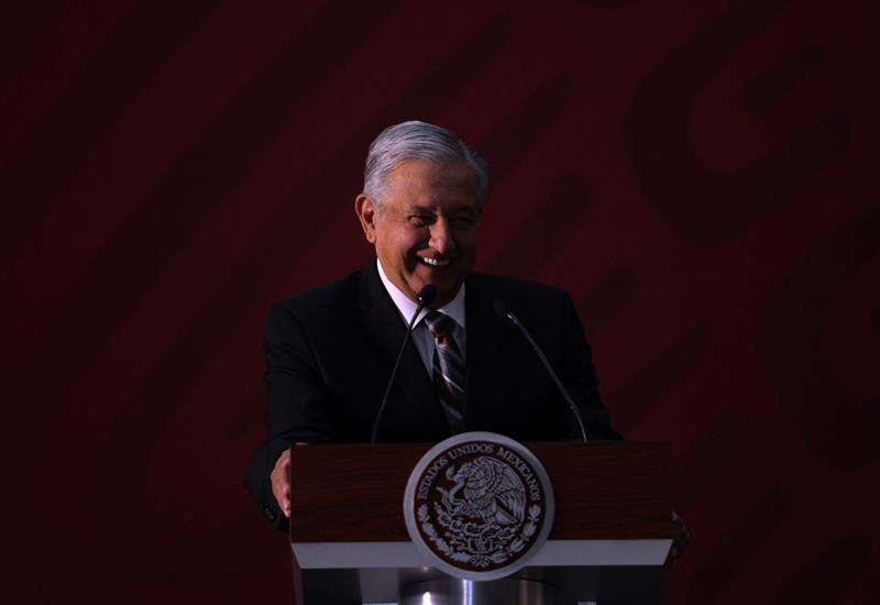 El presidente de México, Andrés Manuel López Obrador. EFE