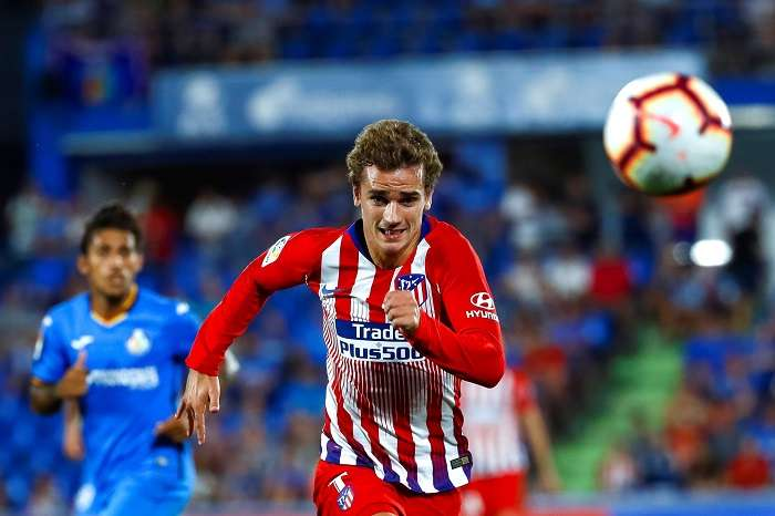 El delantero francés del Atlético de Madrid Antoine Griezmann./ EFE