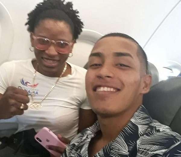 Orlando Martínez y Atheyna Bylon lograron sus cupos en el Panamericano de Boxeo de Nicaragua, en el mes de abril. Foto: Twitter