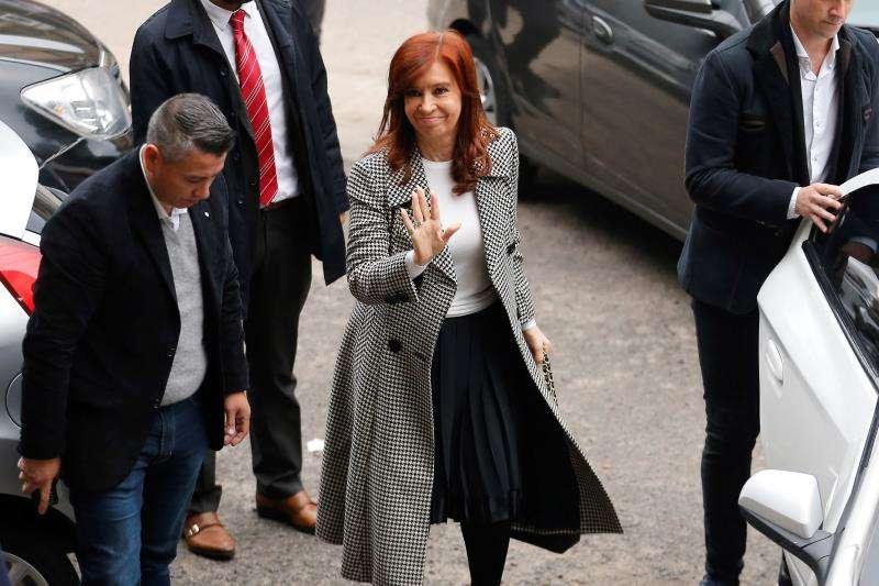 Se celebra la segunda audiencia del juicio contra la expresidenta argentina Cristina Fernández (2007-2015) por presunta asociación ilícita y fraude en la concesión de obra pública durante su mandato. EFE