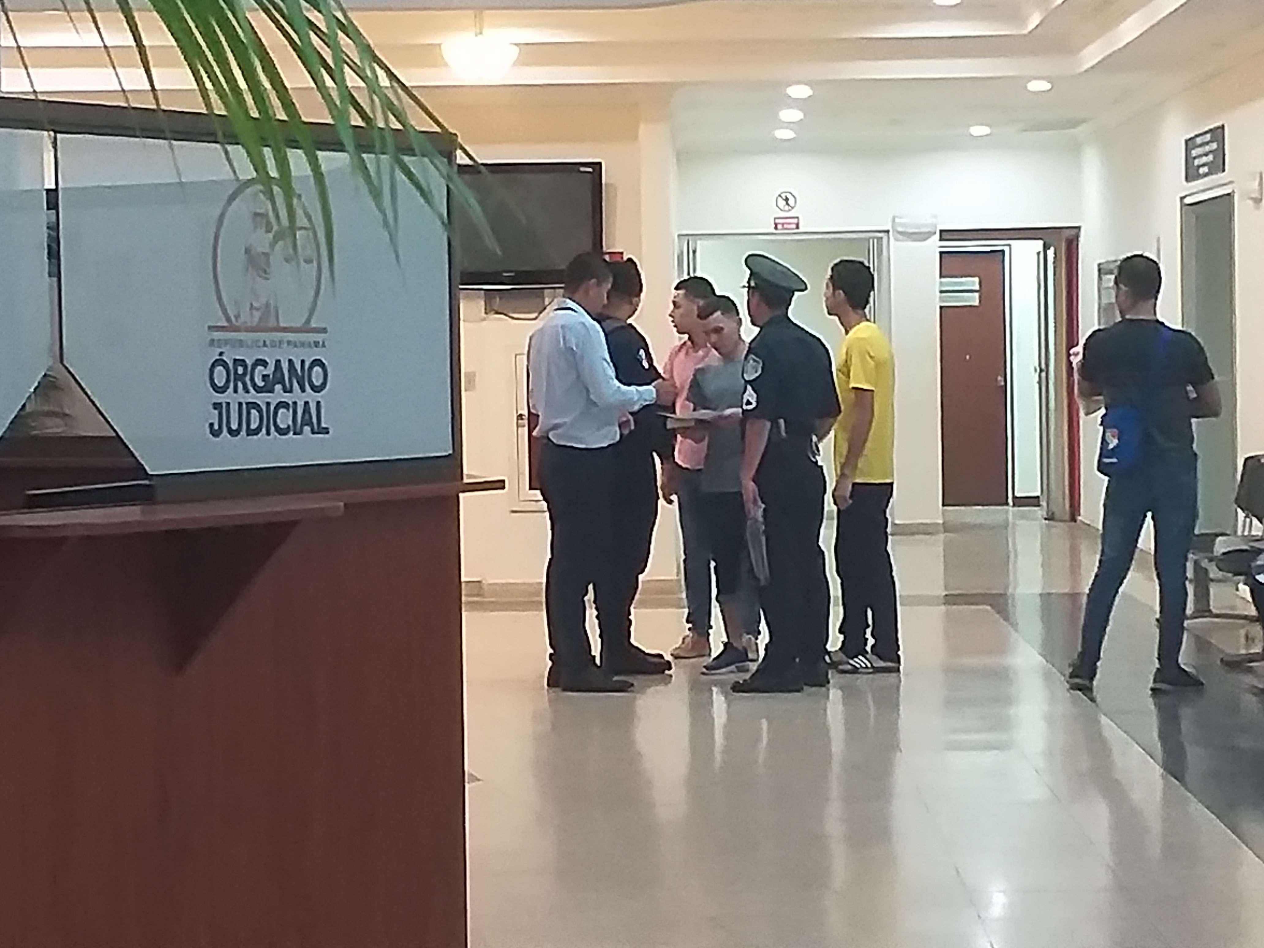 La audiencia que se realizó en el Tribunal Superior del SPA en Chiriquí. Foto: José Vásquez