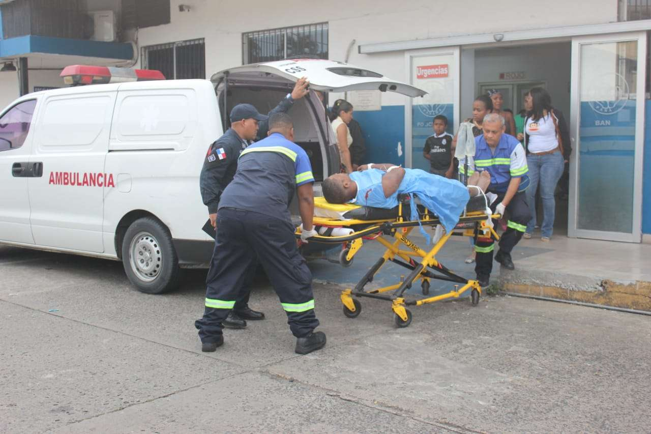 La víctima fue alcanzado por los proyectiles de arma de fuego en el abdomen y en la espalda. Foto: Diómedes Sánchez