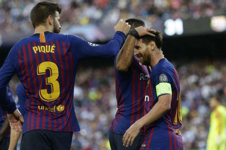 El Barcelona viene de ganar en la Liga de Campeones.