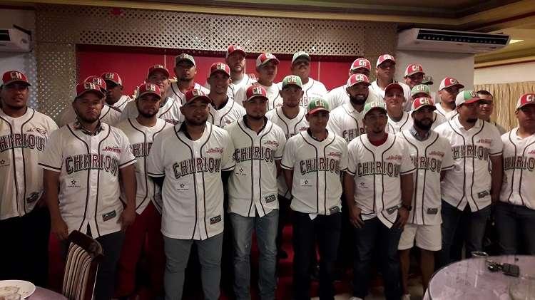 Durante la presentación del equipo y la entrega del uniformes, la liga provincial de Béisbol. Foto: Mayra Madrid
