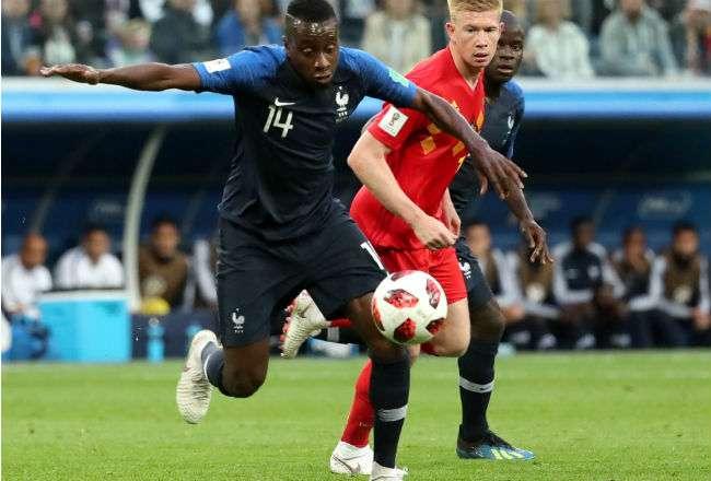 El jugador de Francia Blaise Matuidi. Foto:EFE