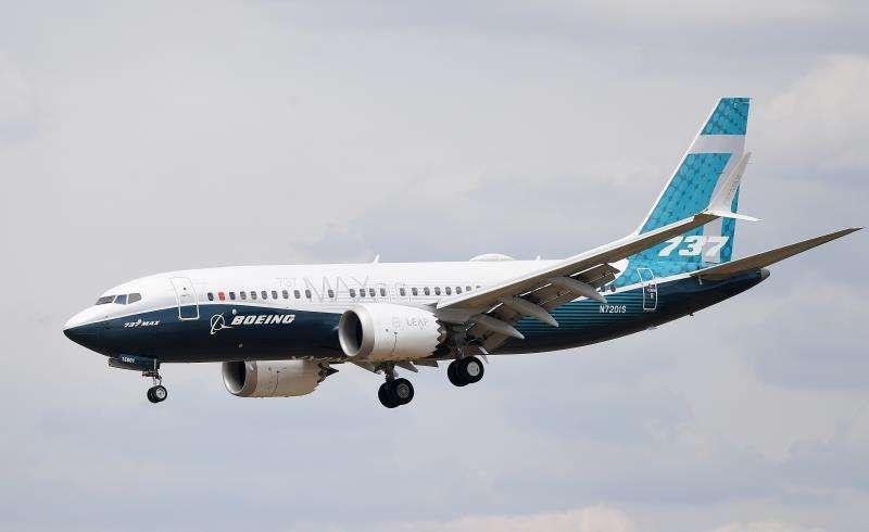 En la imagen, un Boeing 737 Max. EFEArchivo